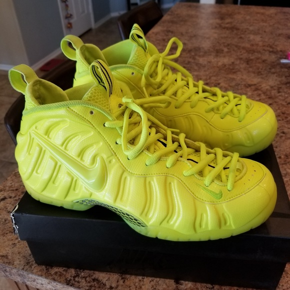 new york 57e5f 2ccf2 SOLD!!!!!Nike Air Foamposite Pro Volt Size 11.5